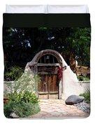 La Entrada A La Casa Vieja De Mesilla Duvet Cover