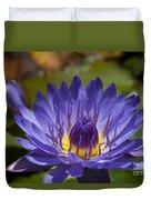 La Fleur De Lotus - Star Of Zanzibar Tropical Water Lily Duvet Cover