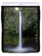 La Fortuna Waterfall  Duvet Cover