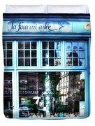 La Fourmi Ailee Paris France Duvet Cover