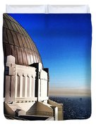 La Griffith Observatory Afternoon Duvet Cover