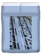 La Griffith Observatory Entrance Duvet Cover