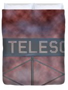 La Griffith Observatory To Telescope Duvet Cover