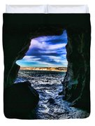La Jolla Cave By Diana Sainz Duvet Cover