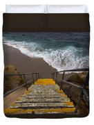 La Jolla Stairs 2 Duvet Cover