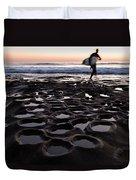 La Jolla Surf Session Part 2 Duvet Cover
