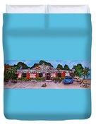La Lechonera Restaurant Key West Florida Duvet Cover