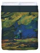 La Mancha De Noche Duvet Cover