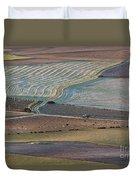 La Mancha Landscape - Spain Series-ocho Duvet Cover