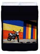 La Motocicleta Duvet Cover