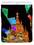 La Parroquia Celebration Duvet Cover