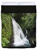 La Paz Waterfalls In Rainforest Costa Duvet Cover