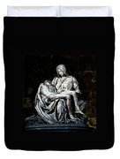 La Pieta Duvet Cover