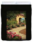 La Posada Gardens In Winslow Arizona Duvet Cover
