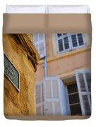 La Provence Windows Duvet Cover