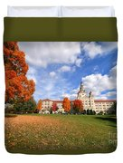 La Roche College On A Fall Day Duvet Cover