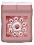 La Ronde Des Marguerites - Pink 02 Duvet Cover
