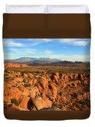 La Sal Landscape Work C Duvet Cover