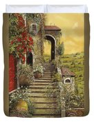 La Scala Grande Duvet Cover by Guido Borelli