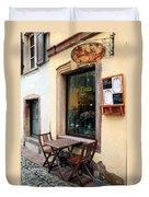 La Tinta Cafe Duvet Cover