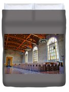 Los Angeles Union Station At Its 75th Anniversary Duvet Cover