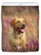 Labrador Dog Duvet Cover