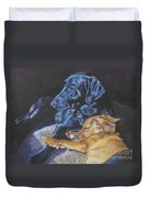 Labrador Love Duvet Cover