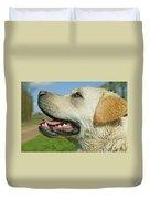 Labrador Retriever Dog Duvet Cover