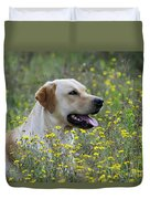 Labrador Retriever Dog Duvet Cover