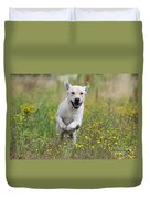 Labrador Running Duvet Cover