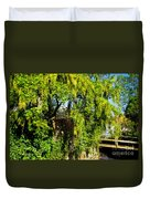 Laburnum By The River Duvet Cover