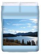 Lac Des Roches Duvet Cover