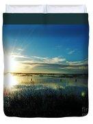 Lacassine Afternoon Sparkle Duvet Cover