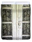 Lace Curtains Duvet Cover