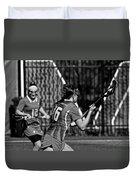 Lacrosse Duvet Cover