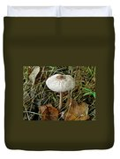 Lacy Parasol Mushroom Duvet Cover