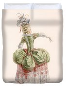 Ladies Evening Gown, Engraved By Dupin Duvet Cover
