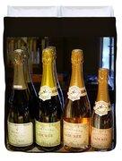 Laduree Champagne In Paris France Duvet Cover