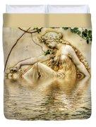 Lady Bathing 2 Duvet Cover