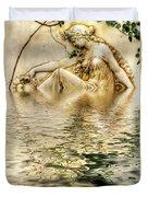 Lady Bathing Duvet Cover