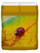 Lady Bug 3 Duvet Cover