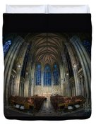 Lady Chapel At St Patrick's Catheral Duvet Cover