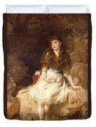 Lady Edith Amelia Ward Daughter Of The First Earl Of Dudley Duvet Cover