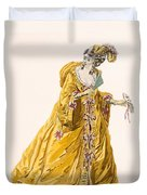 Lady In Grand Domino Dress To Wear Duvet Cover