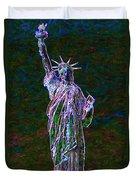 Lady Liberty 20130115 Duvet Cover