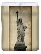 Lady Liberty No 11 Duvet Cover