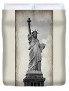 Lady Liberty No 6 Duvet Cover