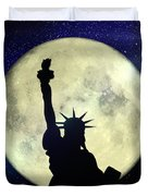 Lady Liberty Nyc - Featured In Comfortable Art Group Duvet Cover