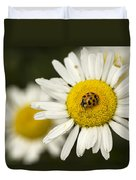 Lady Of The Daisy Duvet Cover