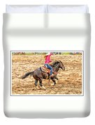 Lady Roping Duvet Cover